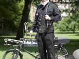 Schornsteinfeger - Kaminkehrer - Fahrrad