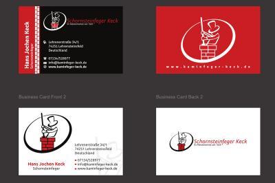 Schornsteinfeger Visitenkarte - Individuelles Design
