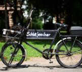 Schornsteinfeger Bild Fahrrad